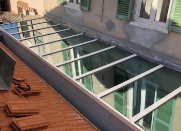 Pergola vitrée Toulon - Sud Alu