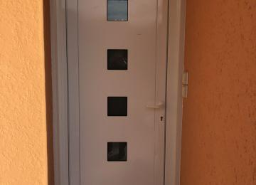 Porte d'entrée Aluminium Sanary - Sud Alu