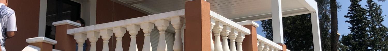 Installation pergola bioclimatique pour une villa à Toulon (83)