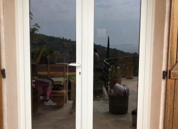 Porte fenêtre aluminium Sanary sur mer - Sud Alu