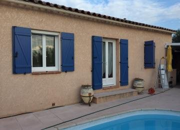 Pose de fenêtres et porte fenêtre en PVC à Sanary (83) - Sud Alu
