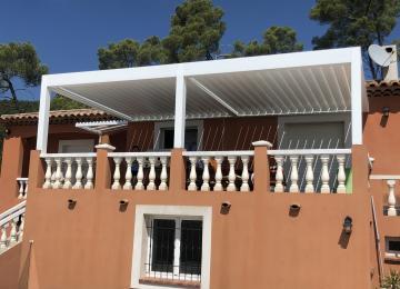 Pose de pergola bioclimatique à Toulon - Sud Alu