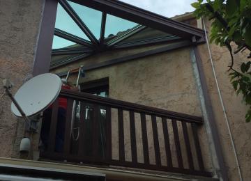 Pergola vitrée installée à La Garde - Toulon - Sud Alu