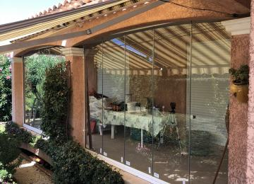 Installation baies coulissantes alu Sanary - Sud Alu