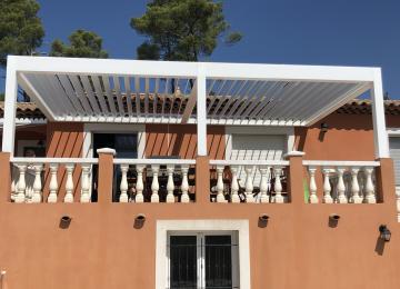 Pergola bioclimatique vente et pose - Sud Alu Toulon (83)