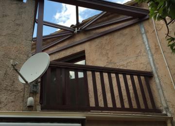 Installation de pergola vitrée à La Garde (83) - Sud Alu
