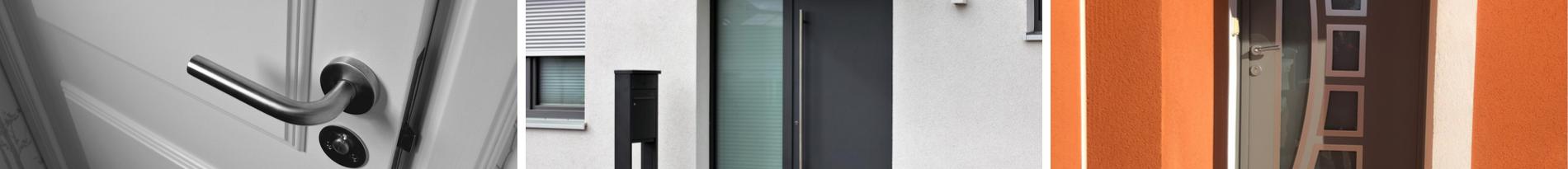 Menuiseries professionnelles aluminium porte d'entrée Sud Alu - Six Fours - Bandol